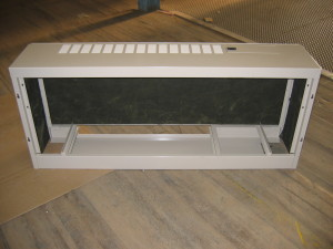 Back View - Heat Pump Enclosure Chassis