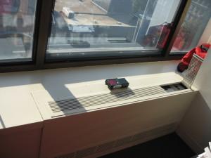 Continuous Heat Pump Enclosure (Wall-to-Wall)