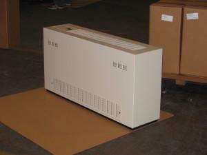 Louver Top Front Heat Pump Enclosure