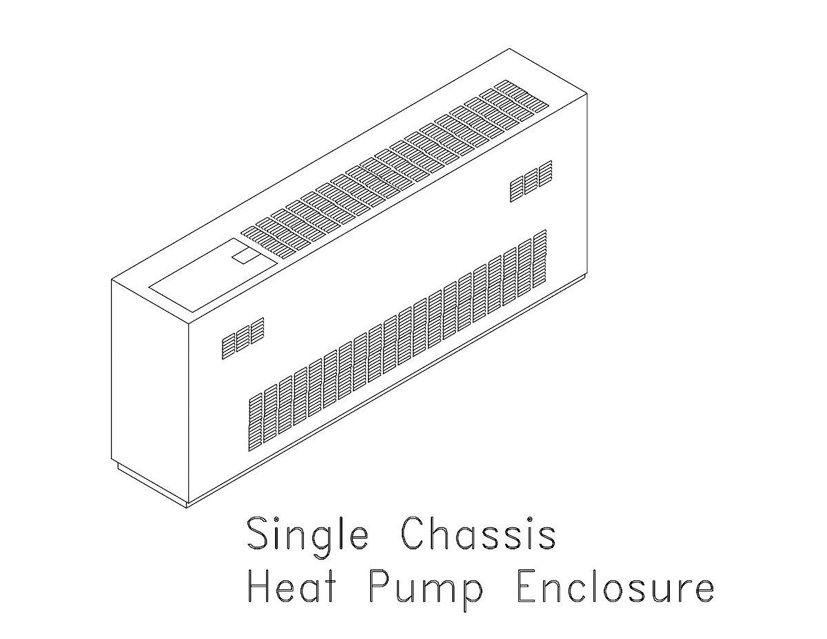 1 Heat Pump Encl.