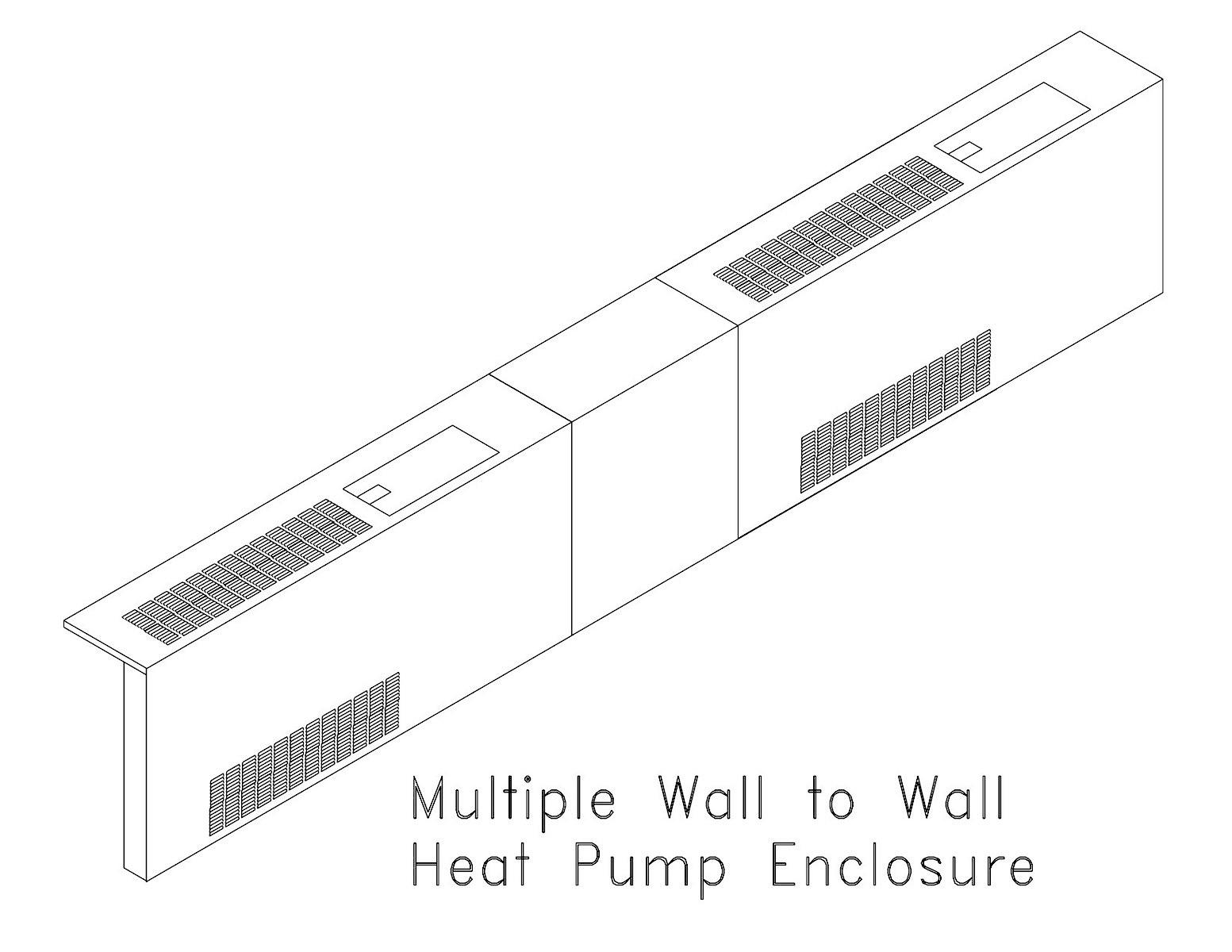2 Heat Pump Encl.