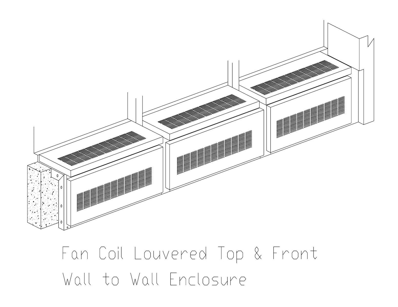 9Fan Coil Encl.
